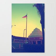 Twistee Treat Canvas Print