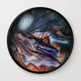The Art of Nature - Jupiter Close Up Wall Clock