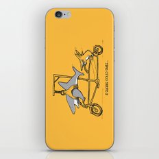 If Sharks Could Smile iPhone & iPod Skin