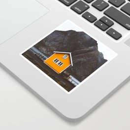 Yellow Cabin Sticker