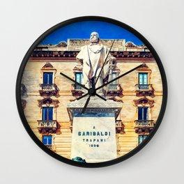 Trapani art 17 Sicily Wall Clock