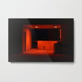Red Pool Metal Print