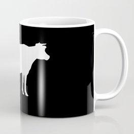 Cow: Black Coffee Mug