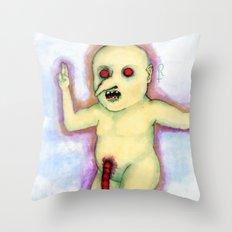 Golden Child Throw Pillow