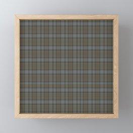 TARTAN FRASER Framed Mini Art Print