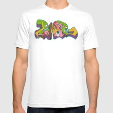Monsters Mens Fitted Tee White MEDIUM