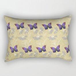 Purple Fields Rectangular Pillow