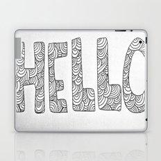 Wavy Hello Laptop & iPad Skin