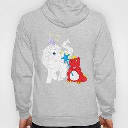 g1 my little pony princess tiffany and fiery the dragon Hoody