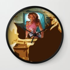 The Pillow~ 09/13/13 Friday Wall Clock