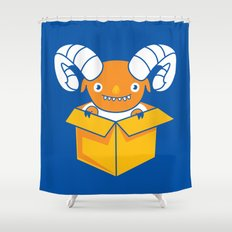 Free Sheeping! Shower Curtain