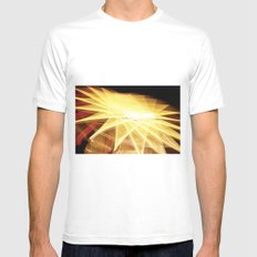 Filament Star MEDIUM White Mens Fitted Tee