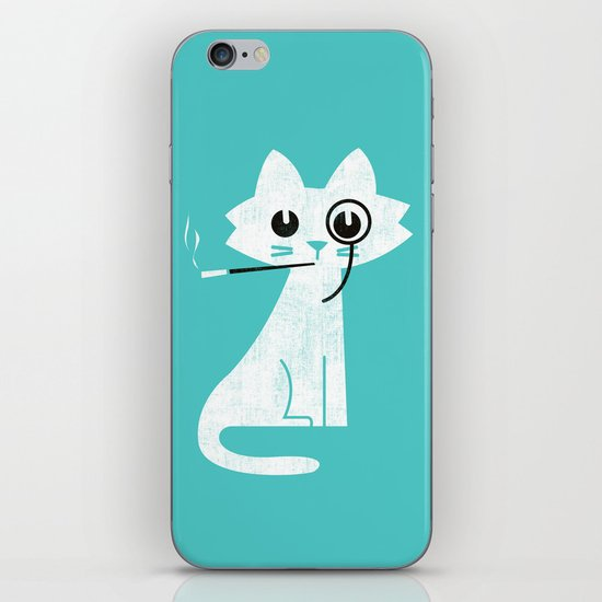 Mark - Aristo-Cat iPhone & iPod Skin