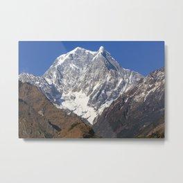 Nilgiri South, The Himalayas, Nepal Metal Print