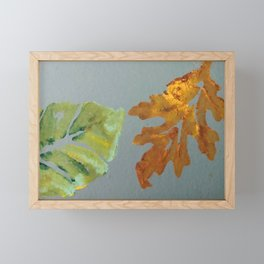 Oak Leaf Framed Mini Art Print