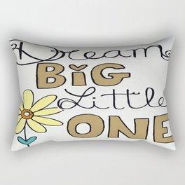 Dream Big Little One Rectangular Pillow