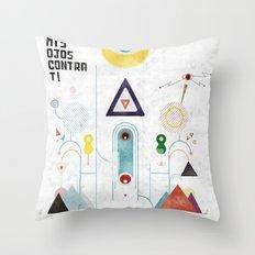 Escapulario Throw Pillow