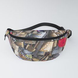 Couples love lock in Paris | Noriko Aizawa Buckles Fanny Pack