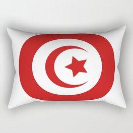 Tunisia flag Rectangular Pillow