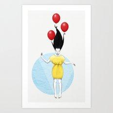 I'll Fly Away Art Print