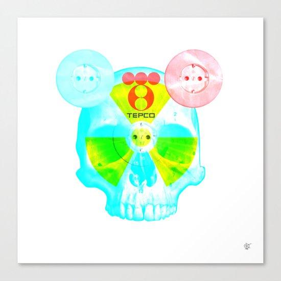 Fukushima - mon amour 2013 Canvas Print