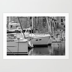 All Calm and Rested Art Print