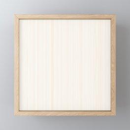 Light Wood Texture Framed Mini Art Print