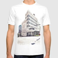 Historic Tacoma Theater MEDIUM Mens Fitted Tee White