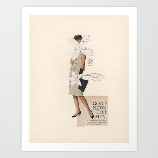 Good News For Men! Art Print