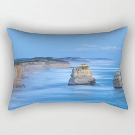 VI - Twelve Apostles on the Great Ocean Road, Australia at dusk Rectangular Pillow