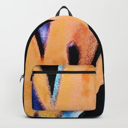 Bird of paradise flower Watercolor Backpack