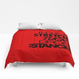 POKE STRETCH TUCK DROP STANCE v6 HQvector Comforters