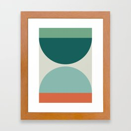 Abstract Geometric 20 Framed Art Print