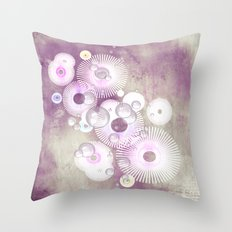 Phantasie in lila - Fantasy in purple Throw Pillow