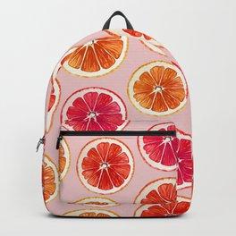 Orange Fruit Summer Dance Backpack