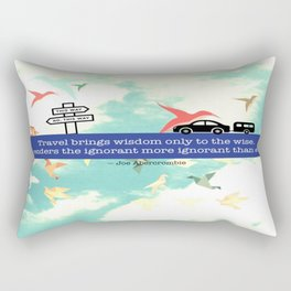 Travel Rectangular Pillow