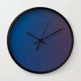 ombre I Wall Clock