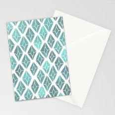 rhinestones 2 Stationery Cards
