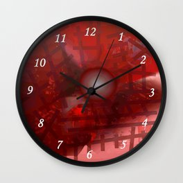 Rope and planet Wall Clock