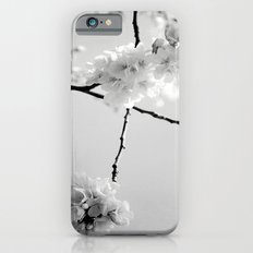 Cherry Blossoms in Black and White iPhone 6s Slim Case