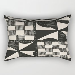 Tapa Cloth | Pacifica Patterns | Tribal Art Rectangular Pillow