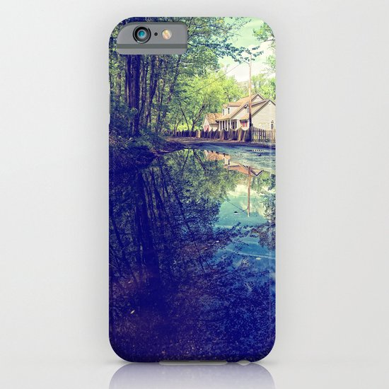 Country Lane Reflections iPhone & iPod Case