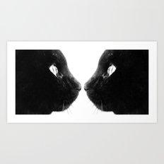 Churrus The Cat Art Print