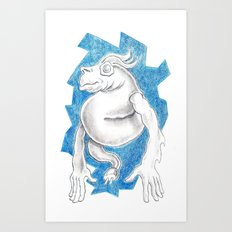 Eggeye Art Print