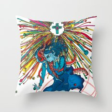 Saint Euphoria Throw Pillow