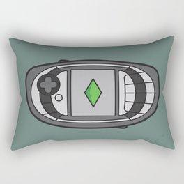 N Gage Retro Rectangular Pillow