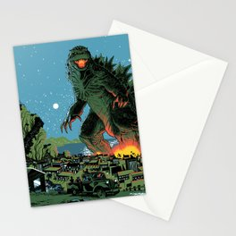 Godzilla - Blue Edition Stationery Cards