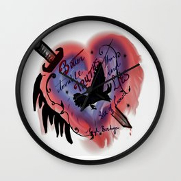 Terrible truths Wall Clock