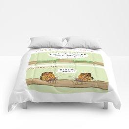 Caterpillar Love Comforters