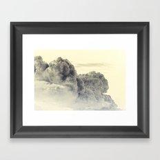 Heavenly Stampede Framed Art Print